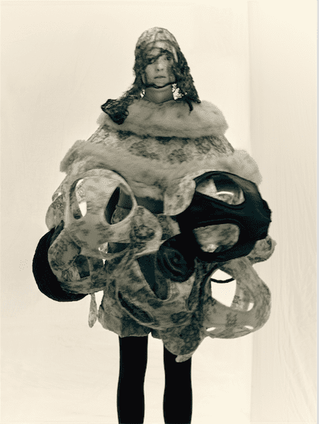 Rei Kawakubo (Japanese, born 1942) for Comme des Garçons (Japanese, founded 1969). Ceremony of Separation, autumn/winter 2015–2016. Photograph by