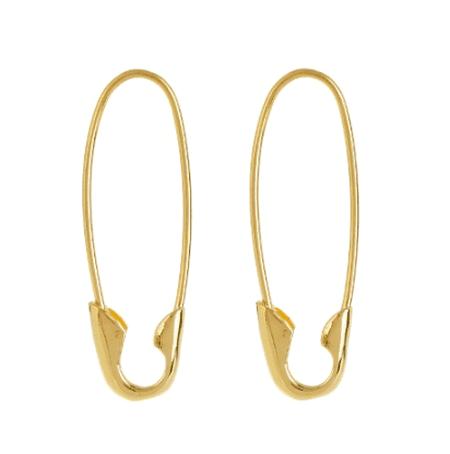 Loren Stewart, Yellow-gold earrings, £276 | Courtesy of Matches Fashion
