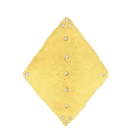 Orit Elhanati, Kite diamond & yellow-gold earring, £1,358 | Courtesy of Matches Fashion