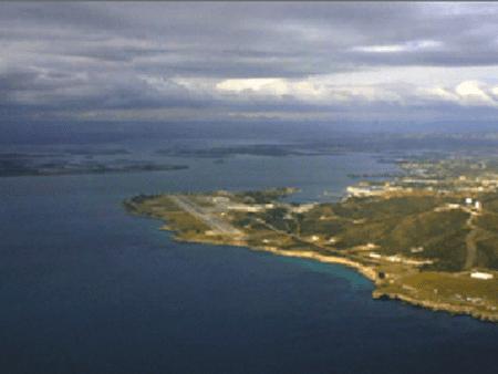 Guantanamo Bay Aerial View