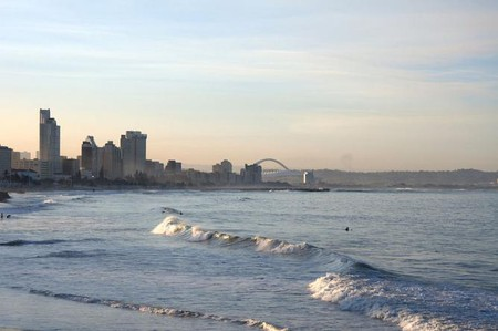 South Africa, Durban beach