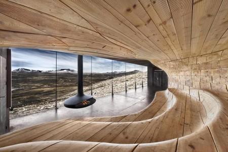 Norwegian Wild Reindeer Center Pavilion by Snøhetta
