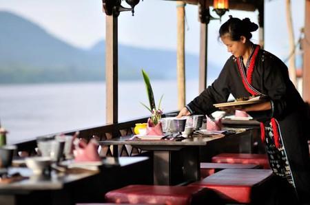 Nava Mekong/ Le Vetiver Restaurant, Laos