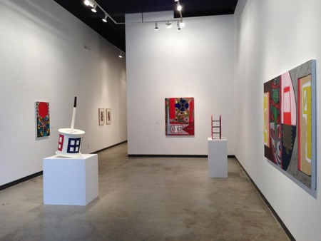 Roy Dowell, installation view, 2013 | Courtesy James Harris Gallery