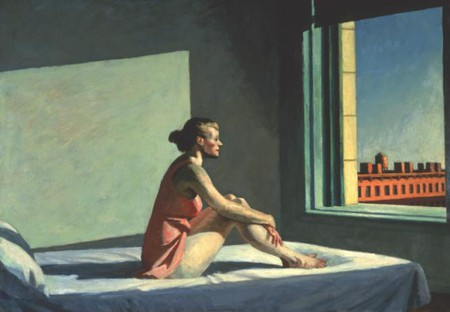 Edward Hopper (1882-1967), Morning Sun, 1952, Oil on canvas, 28 1/8 x 40 1/8 in. (71.4 x 101.9 cm), Columbus Museum of Art; Howald Fund Purchase