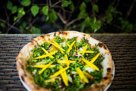 Flower Pizza | Image Courtesy of Pizza 4P's