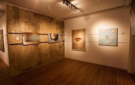 Interior of the gallery | Courtesy Barnadas Huang