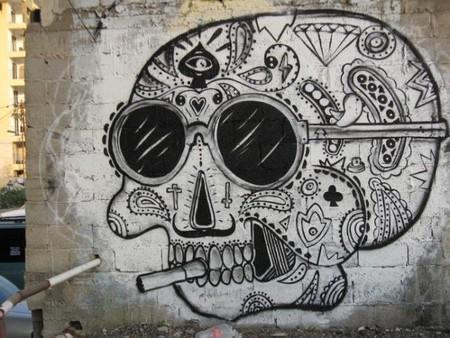 Graffiti skull   @ Elijah Shifrin
