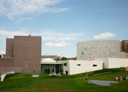 Exterior of Walker Art Center