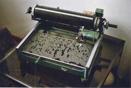 A later Chinese typewriter
