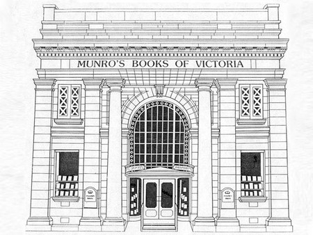 Sketch of Munro's front exterior