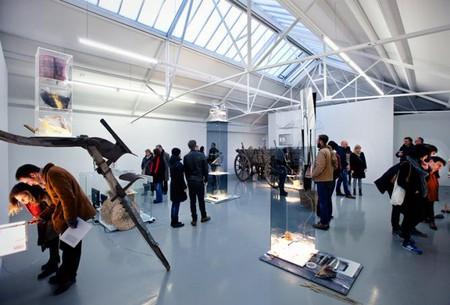 Galerie Fons Welters during Amsterdam Art Weekend 2014. Photo: Gert Jan van Rooij