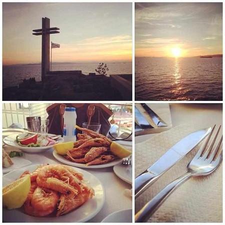 Sunsets & fried fish | Courtesy of Margaro