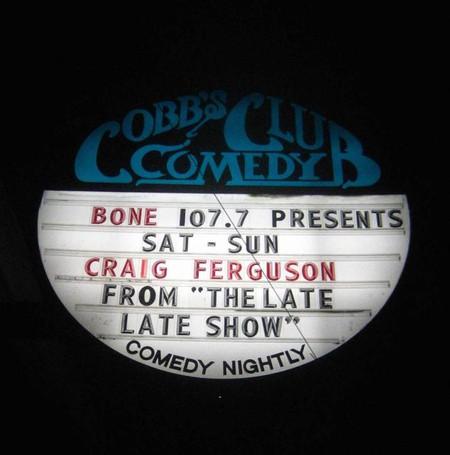Cobb's Comedy Club © Rick/Flickr