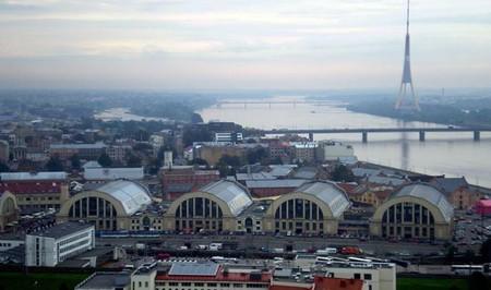 Aerial view of Riga Central Market | © Kulmalukko/Wikitravel