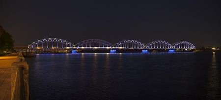 Riga by night | © Diego Delso/WikiCommons