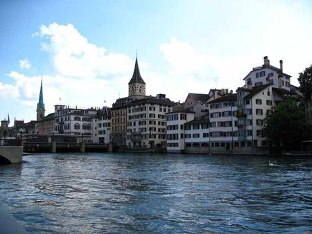 The Limmat River   © Andrew Bossi/WikiCommons