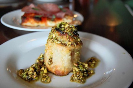 A plate of Rottollo with nuts is part of the fix-prixe menu at Vetri.