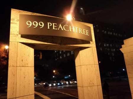 999 Peachtree, Front of Empire State South