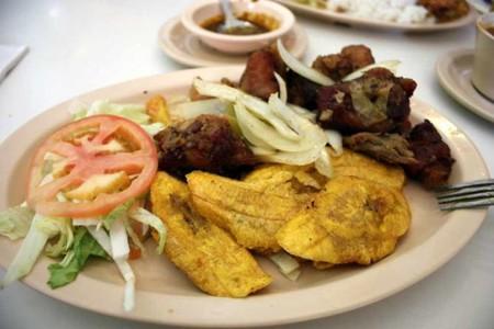 Meal at El Jibarito   Courtesy of El Jibarito