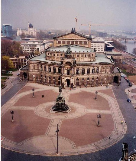 Theaterplatz and the Semperoper