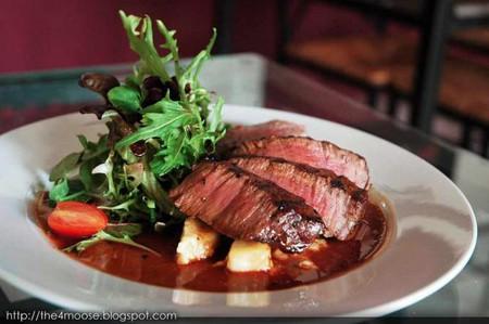 Classic steak dish