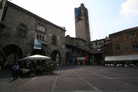 A view of Piazza Vecchia