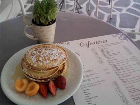 Cafaeteria pancakes   Courtesy of Cafeateria