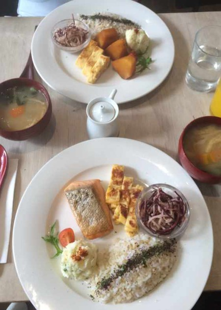 Traditional Japanese weekend breakfast at Cibi   © Annie-Mei Forster