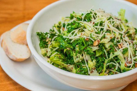 Coral Tree Cafe's Kale Salad © Coral Tree Cafe