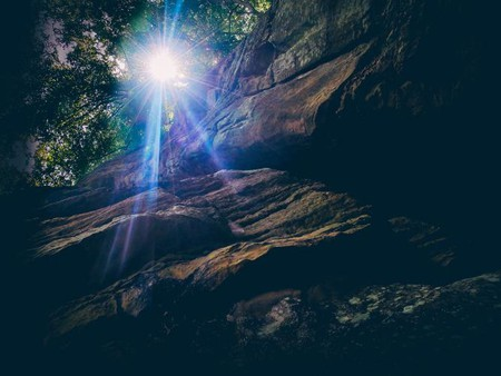 Mullerthal caves Luxembourg I