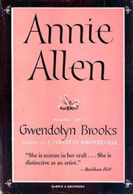 Cover image Annie Allen   © Harper & Brothers
