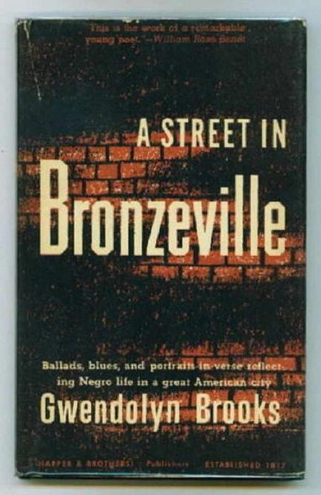 Cover image A Street in Bronzeville   © Harper & Brothers