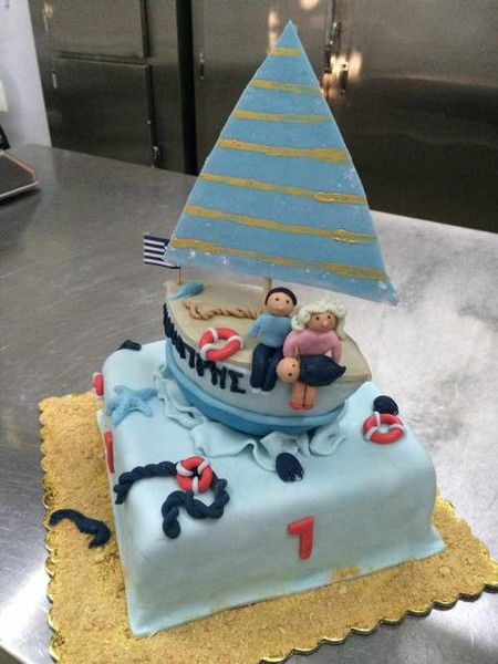 Cakes are more delicious when created with care and imagination | Courtesy of Vanilia Spetses