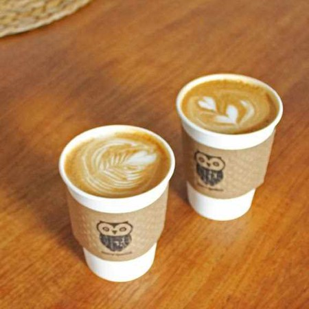 Coffees to go   Courtesy of Morning Owl Coffeehouse