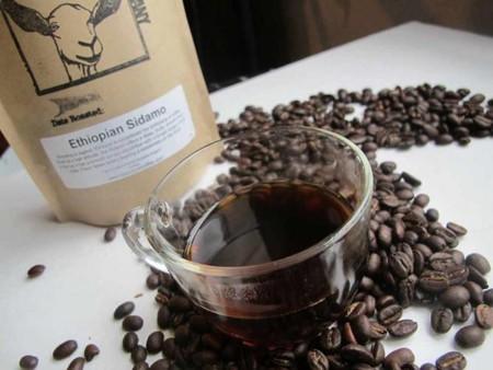 Ethiopian Sidamo   Courtesy of Happy Goat Coffee Company