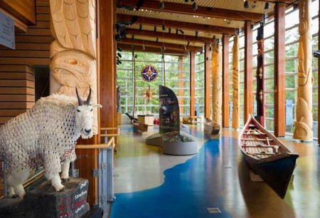 Squamish Lil'wat Cultural Centre © Mike Crane/Tourism Whistler