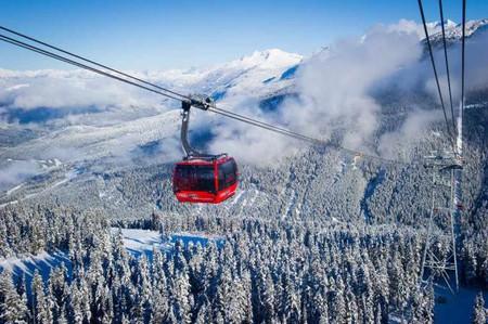 Peak 2 Peak Gondola © Mike Crane/Tourism Whistler
