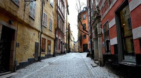Gamla Stan's narrow streets