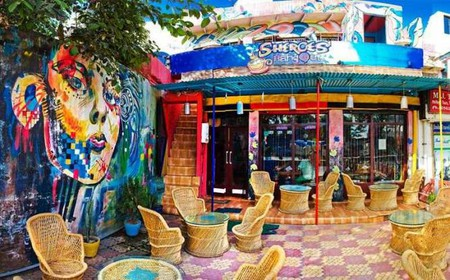 The café | Courtesy of Sheroes' Hangout