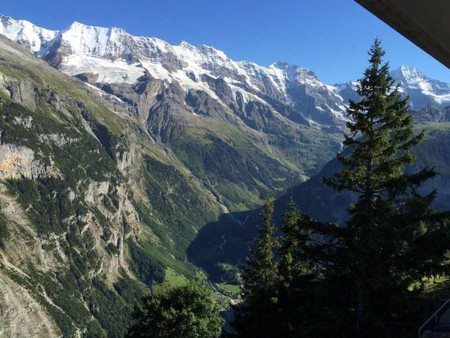 View from Hotel Edelweiss