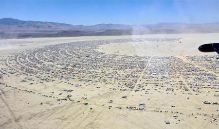 Aerial view of the Burning Man 2012   © Steve Jurvetson/WikiCommons