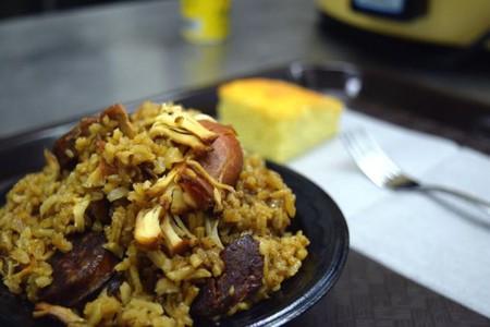 Rice & Roux's chicken and sausage jambalaya | Courtesy Rice & Roux