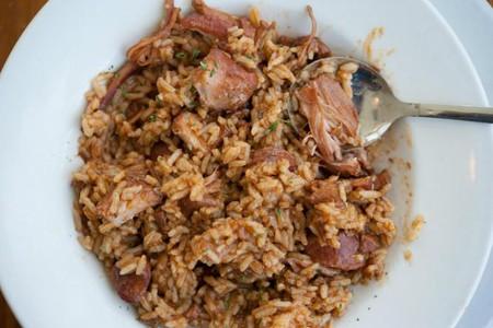 La Cuisine de Maman's jambalaya | Courtesy Vermilionville