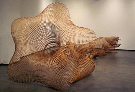 Interview With Cambodian Artist Sopheap Pich Sculpting With Bamboo