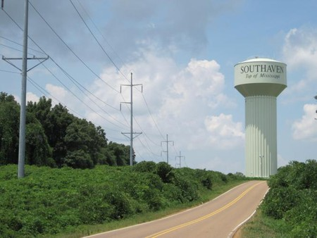 Southaven Top Of Mississippi Watertower On Starlanding Road