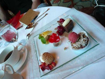 Dessert At Napa Rose Xa9 Cory Doctorow Flickr
