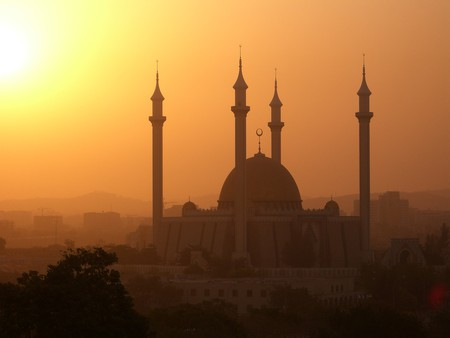 A Mosque in Abuja, Nigeria ©Kipp Jones