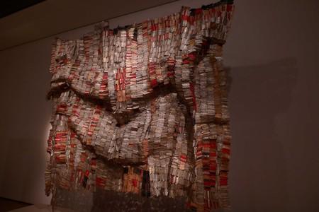 El Anatsui - Man's Cloth ©Peterson Kamwathi
