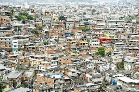 Favela at the Complexo Alemao, Rio de Janeiro, Brazil   © lazyllama/Shutterstock